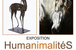 Exposition Pascale MARCHESINI-ARNAL, peinture sculpture HUMANIMALITES à Bellême (61 Orne)