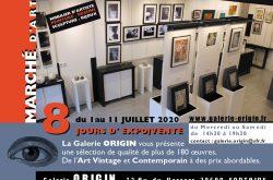 La Galerie ORIGIN à Fontaine (38 Isère) présente son Marché d'Art