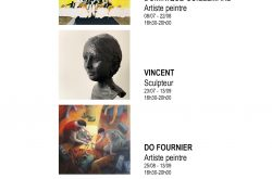 Expositions GUILLEMARD – VINCENT – DO FOURNIER – LAVIT NICORA