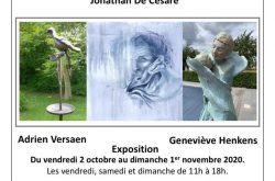 Jonathan De Cesare, Geneviève Henkens et Adrien Versaen