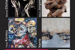 Exposition Titos Kontou, Hans Jorgensen, Sylvie Cliche, Nanie