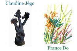 Exposition « Nature Enchantée », France Do, graveur plasticienne et Claudine Jégo, céramiste